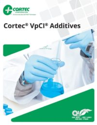 Cortec Additives brochure cover