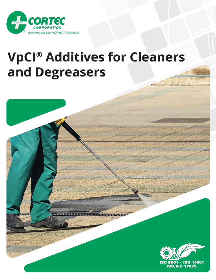 VpCI Additives for Cleaners and Degreasers Brochure Cover