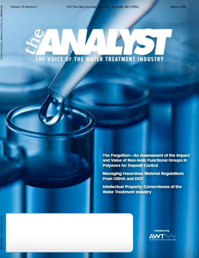 The Analyst Magazine Cover